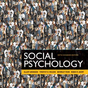 Solution manual for Social Psychology 6th Edition by Aronson