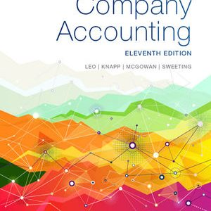 Solution manual for Company Accounting 11th Edition by Leo