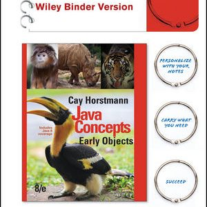 Solution manual for Java Concepts: Early Objects 8th Edition by Horstmann