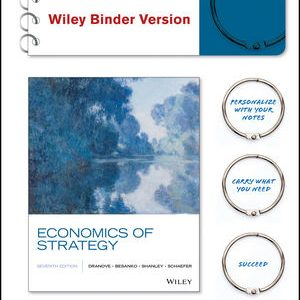 Solution manual for Economics of Strategy 7th Edition by Dranove
