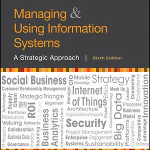 Solution manual for Managing and Using Information Systems: A Strategic Approach 6th Edition by Pearlson