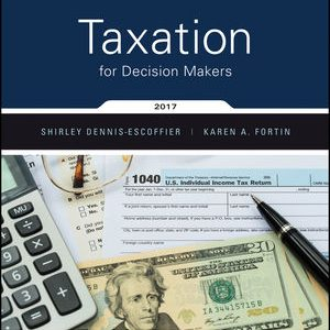 Solution Manual for Taxation for Decision Makers