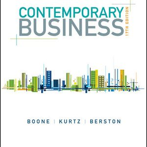 Solution Manual for Contemporary Business