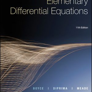 Solution manual for Elementary Differential Equations 11th Edition by Boyce