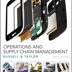 Solution Manual for Operations and Supply Chain Management