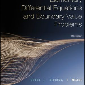 Solution Manual for Elementary Differential Equations and Boundary Value Problems 11th Edition by Boyce ISBN: 1119381649