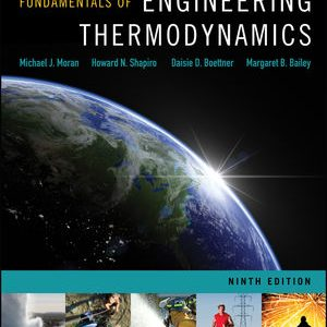 Solution manual for Fundamentals of Engineering Thermodynamics 9th Edition by Moran