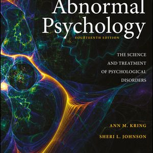 Test Bank for Abnormal Psychology