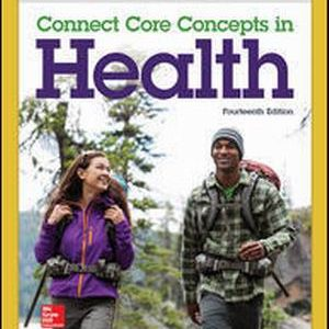 Test Bank for Connect Core Concepts in Health