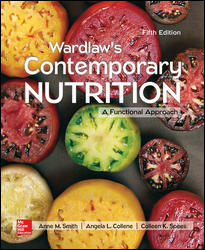 Test Bank for Wardlaw's Contemporary Nutrition: A Functional Approach