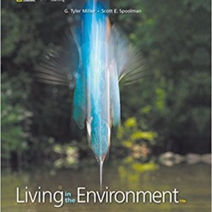 Solution manual for Living in the Environment 9th Edition by Miller