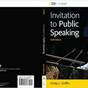 Solution manual for Invitation to Public Speaking 6th Edition by Griffin