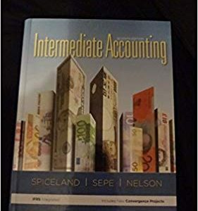 Solution manual for Intermediate Accounting 7th Edition by Spiceland
