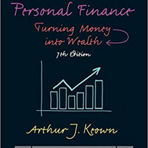 Solution manual for Personal Finance Turning Money into Wealth 7th Edition by Keown
