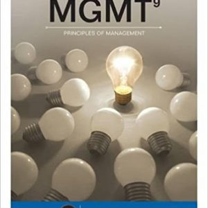 Solution manual for MGMT 9th Edition by Williams
