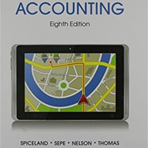 Solution manual for Intermediate Accounting 8th Edition by Spiceland