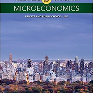 Solution Manual for Microeconomics: Private and Public Choice