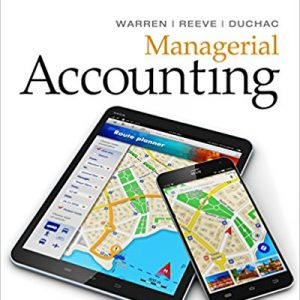 Solution Manual for Manual for Managerial Accounting