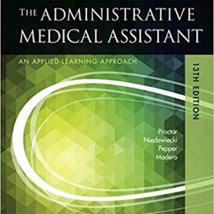 Test Bank for Kinns The Administrative Medical Assistant