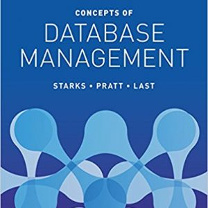 Solution Manual for Concepts of Database Management