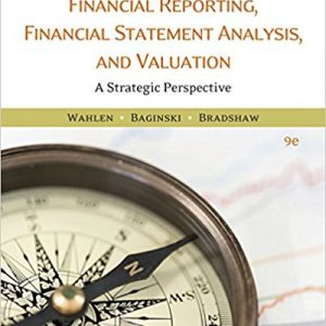 Solution manual for Financial Reporting