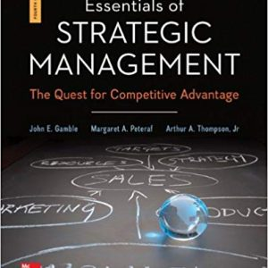 Solution manual for Essentials of Strategic Management 4th Edition by Gamble