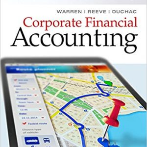 Solution manual for Corporate Financial Accounting 14th Edition by Warren