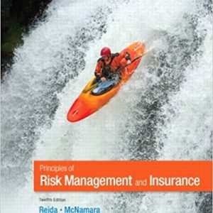 Solution Manual for Principles of Risk Management and Insurance