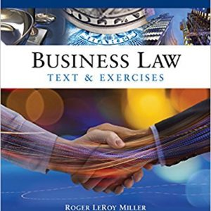 Solution manual for Business Law: Text and Exercises 8th Edition by Miller