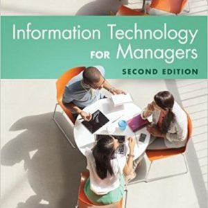 Solution manual for Information Technology for Managers 2nd Edition by Reynolds