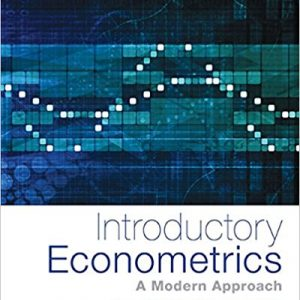 Solution manual for Introductory Econometrics A Modern Approach 6th Edition by Wooldridge