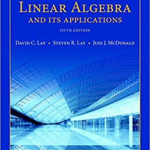 Solution manual for Linear Algebra and Its Applications 5th Edition by Lay