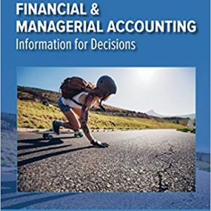 Solution manual for Financial and Managerial Accounting 7th Edition by Wild