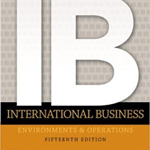 Solution manual for International Business 15th Edition by Daniels