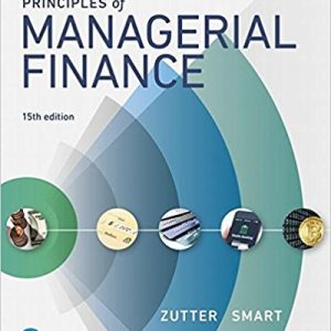Test Bank for Principles of Managerial Finance 15th Edition by Zutter