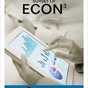 Solution manual for Survey of ECON 3rd Edition by Sexton