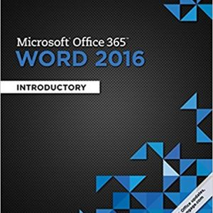 Solution manual for Microsoft Office 365 & Word 2016: Introductory 1st Edition by Vermaat