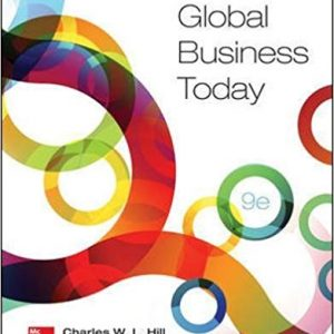 Solution manual for Global Business Today 9th Edition by Hill