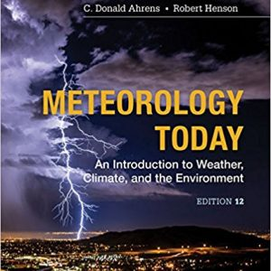 Solution Manual for Meteorology Today