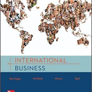 Solution manual for International Business 1st Edition by Geringer