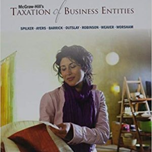 Solution Manual for McGraw-Hill's Taxation of Business Entities 2017 Edition