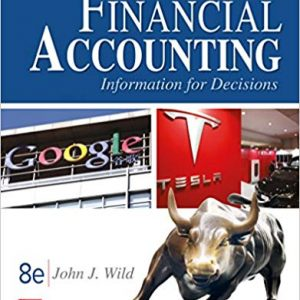 Solution manual for Financial Accounting Information for Decisions 8th Edition by Wild