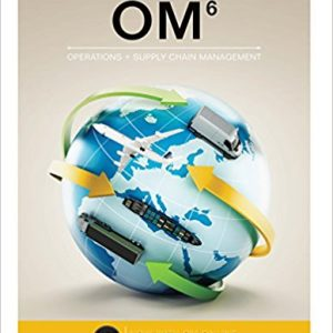 Solution manual for OM 6th Edition by Collier