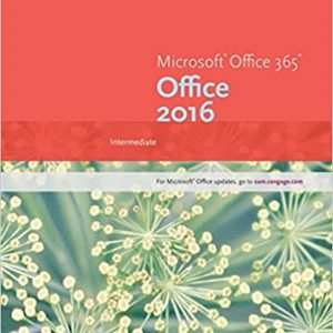 Solution manual for New Perspectives Microsoft Office 365 & Office 2016: Intermediate 1st Edition by Carey
