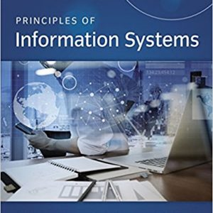 Solution Manual for Principles of Information Systems