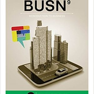 Test Bank for BUSN 9th Edition by Kelly