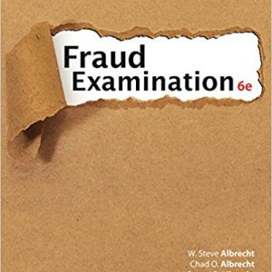 Solution Manual for Fraud Examination