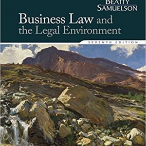 Solution manual for Business Law and the Legal Environment 7th Edition by Beatty