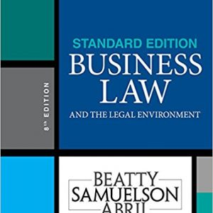 Test Bank for Business Law and the Legal Environment 8th Edition by Beatty
