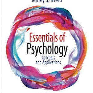 Test Bank for Essentials of Psychology: Concepts and Applications 5th Edition by Nevid